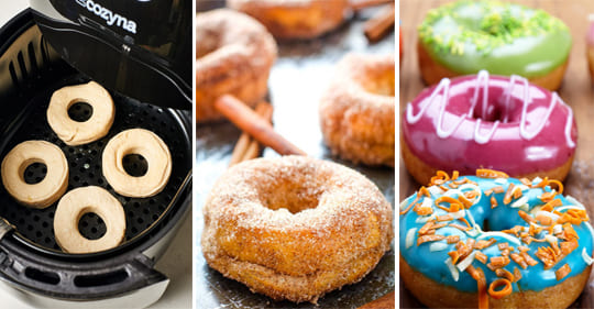 Air Fryer Doughnuts