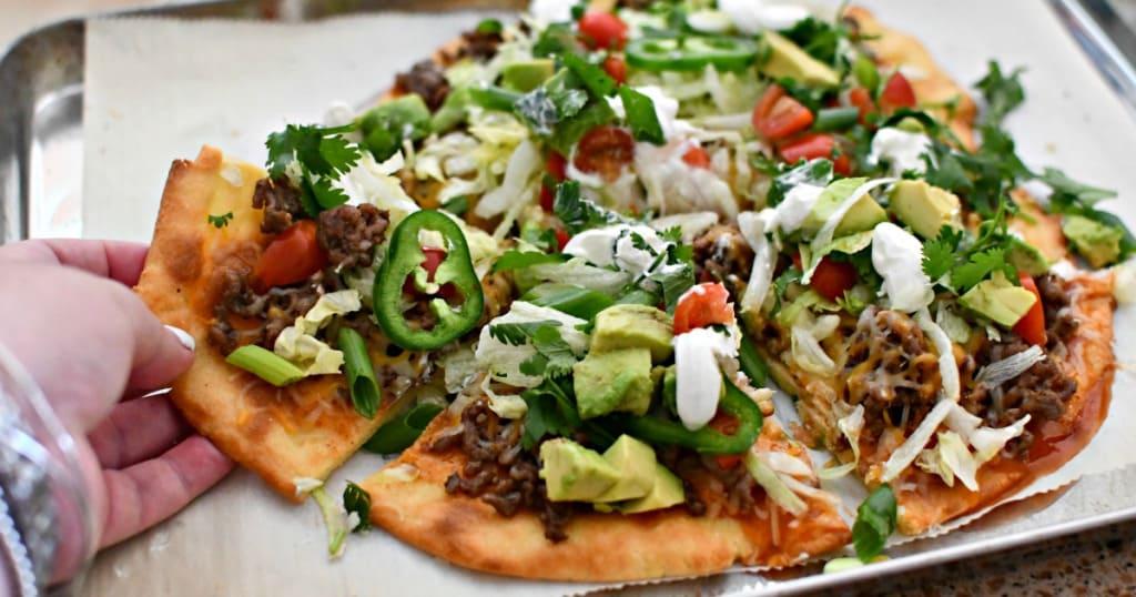 Best Keto Taco Pizza Recipe