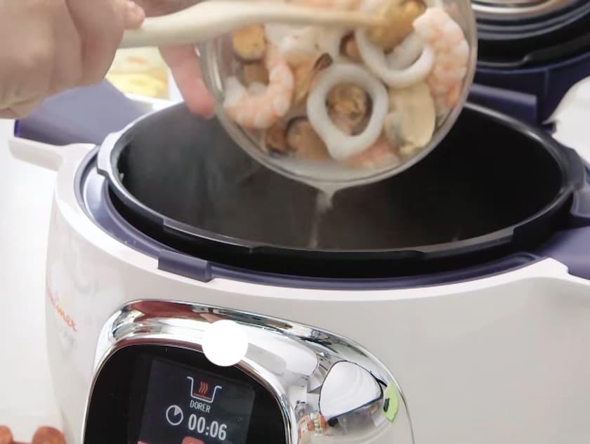 Paella au Cookeo