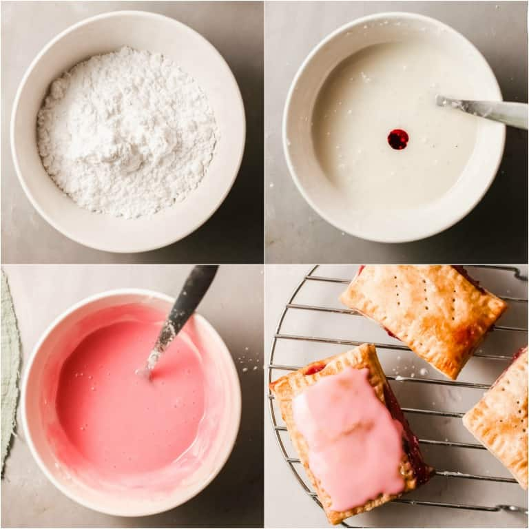 Easy Air Fryer Berry Pop Tarts