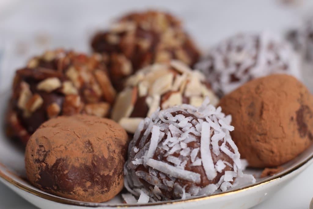 Recette De Truffes au chocolat Keto
