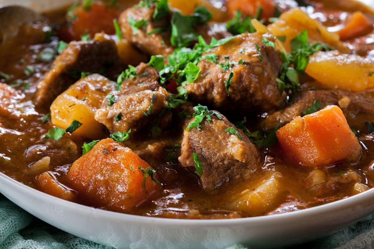 Ragoût de bœuf irlandais au cookeo