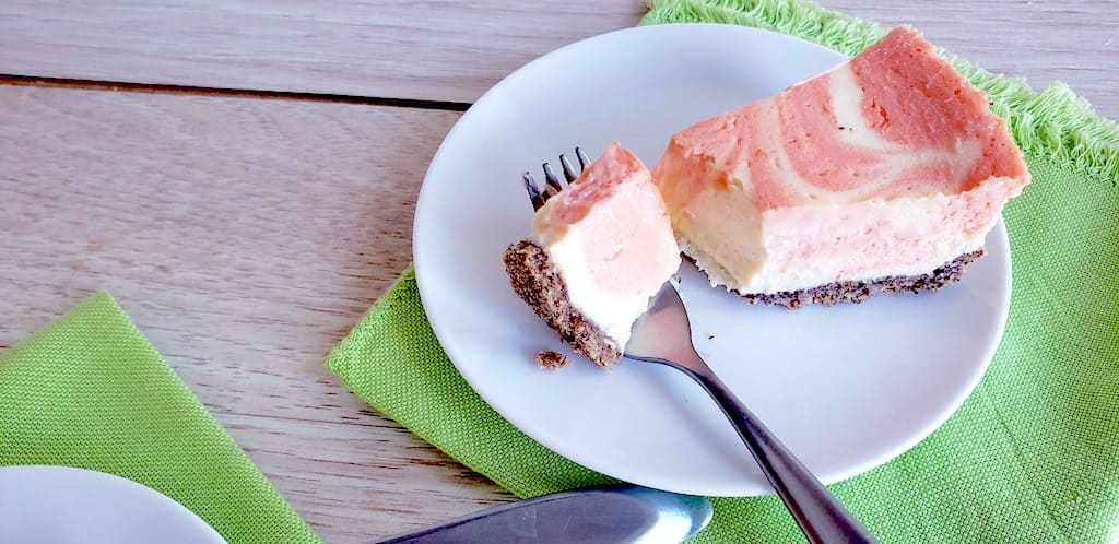 Keto Orange Creamsicle Cheesecake