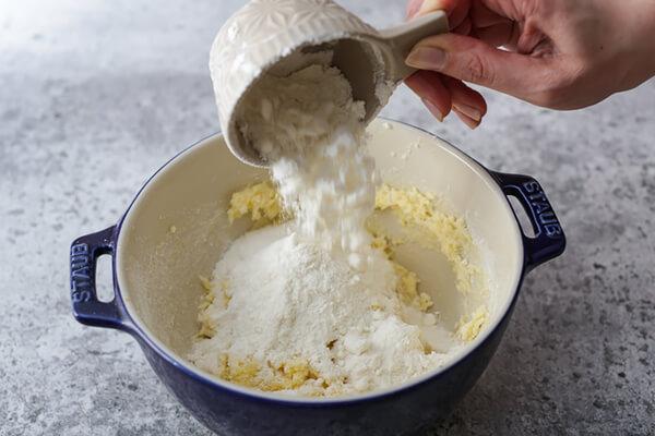 egg and vanilla