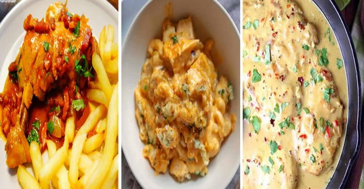 Les 3 meilleures recettes de poulet avec votre cookeo
