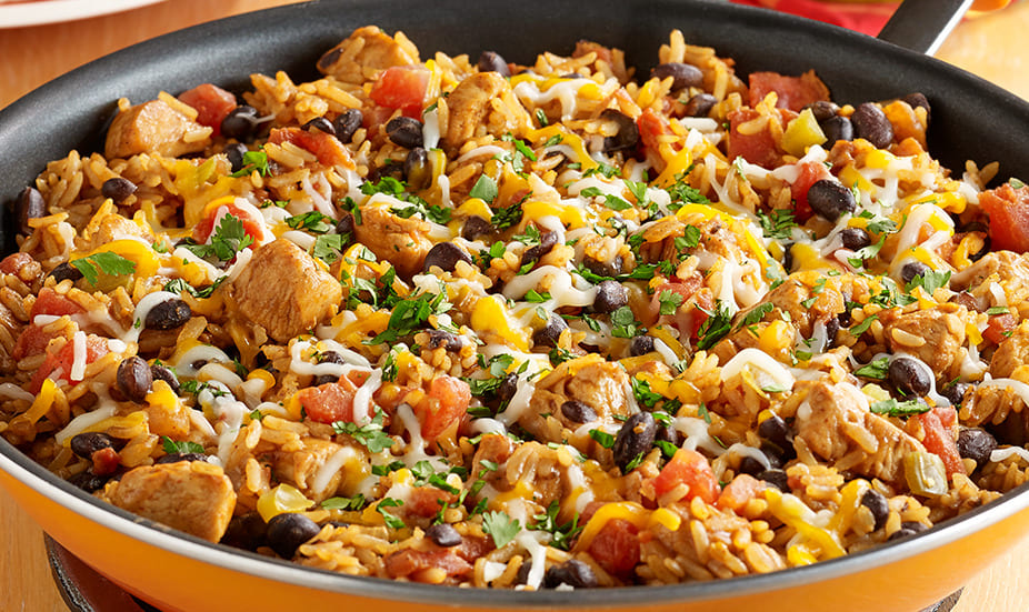 Poulet et Riz Mexicain au Cookeo