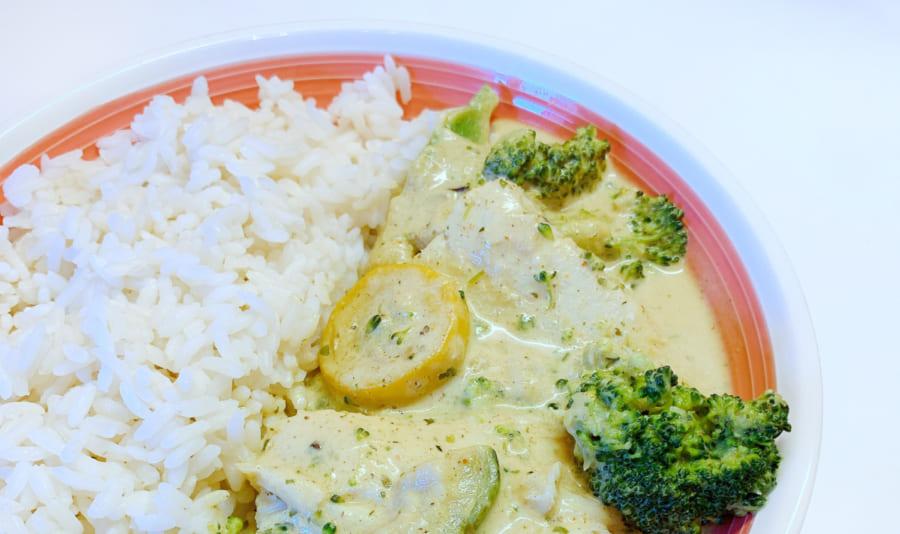 Poisson Au Curry Recette Cookeo