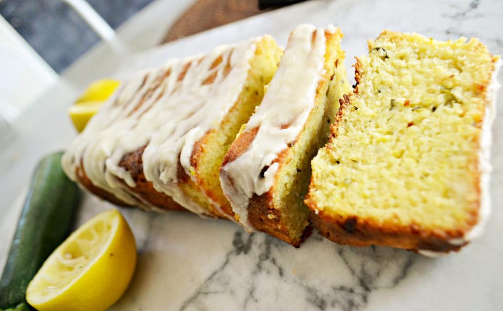 The Best Keto Lemon Zucchini Bread