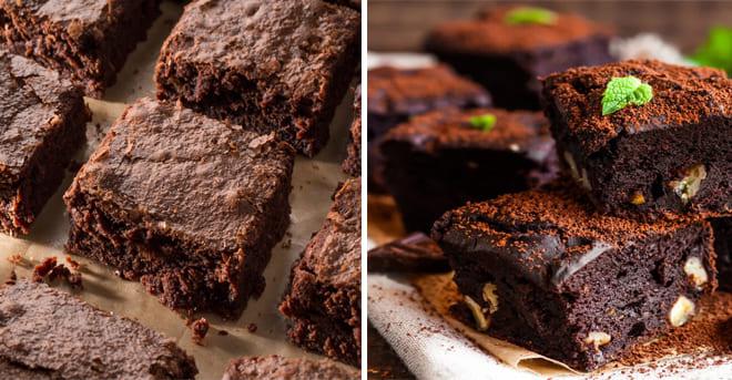 Les meilleurs brownies keto avec l'ingrédient secret qui les rend riches et crémeux!!