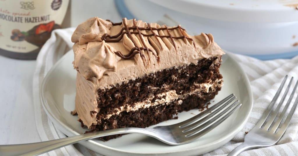 Gâteau Au Chocolat Et Aux Noisettes Keto