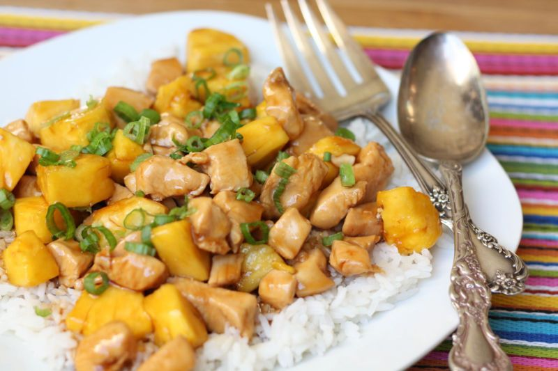 Poitrines De Poulet à l'Ananas Au Cookeo