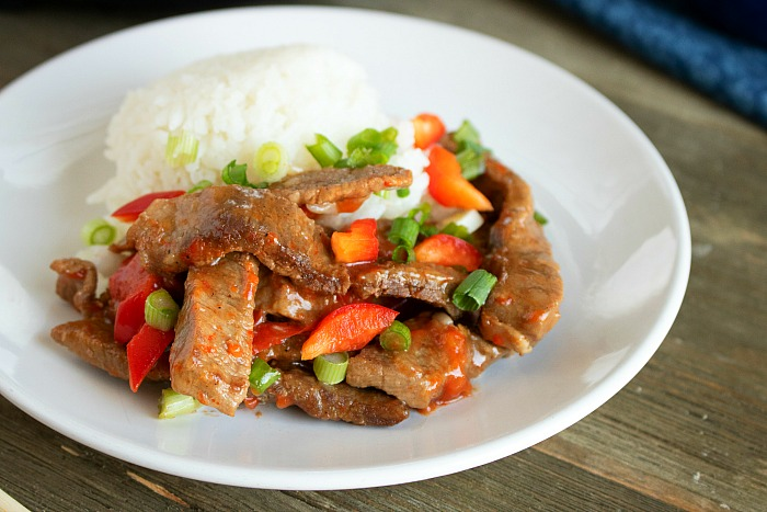 Instant pot Chinese Pepper Steak